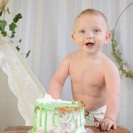 Cakesmash rond eerste verjaardag