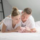 Newborn lifestyleshoot bij jouw thuis