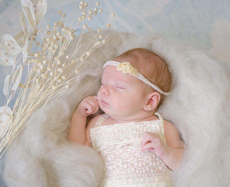 Een bijzondere newbornshoot